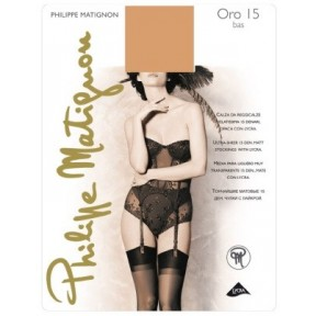 Чулки Philippe Matignon Oro 15 bas